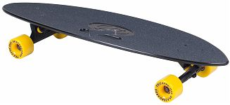 Скейтборд пластик. Fishboard 31 black 1/4 TLS-409